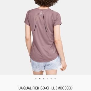 UA Qualifier Iso-Chill short sleeve running shirt